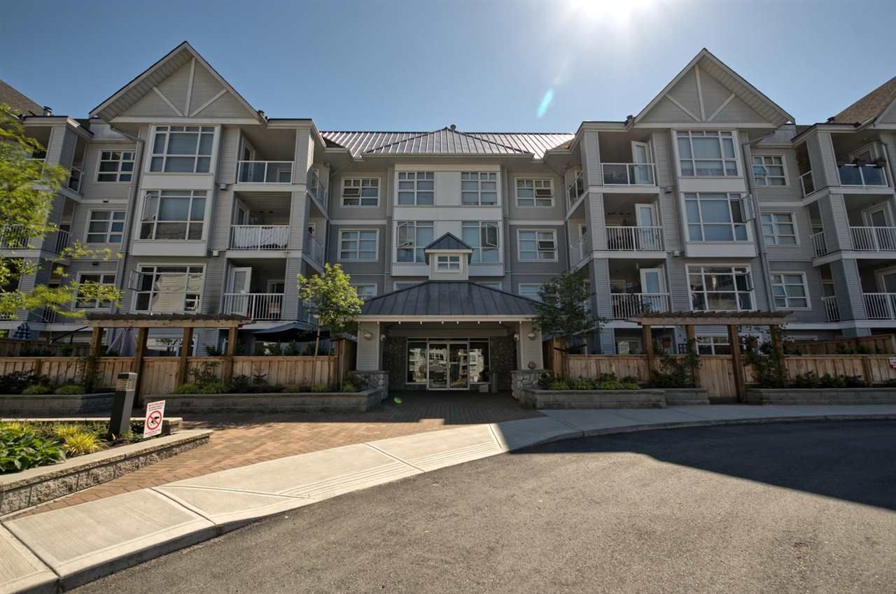 """Main Photo: 108 3148 ST JOHNS Street in Port Moody: Port Moody Centre Condo for sale in """"SONRISA"""" : MLS®# R2169419"""