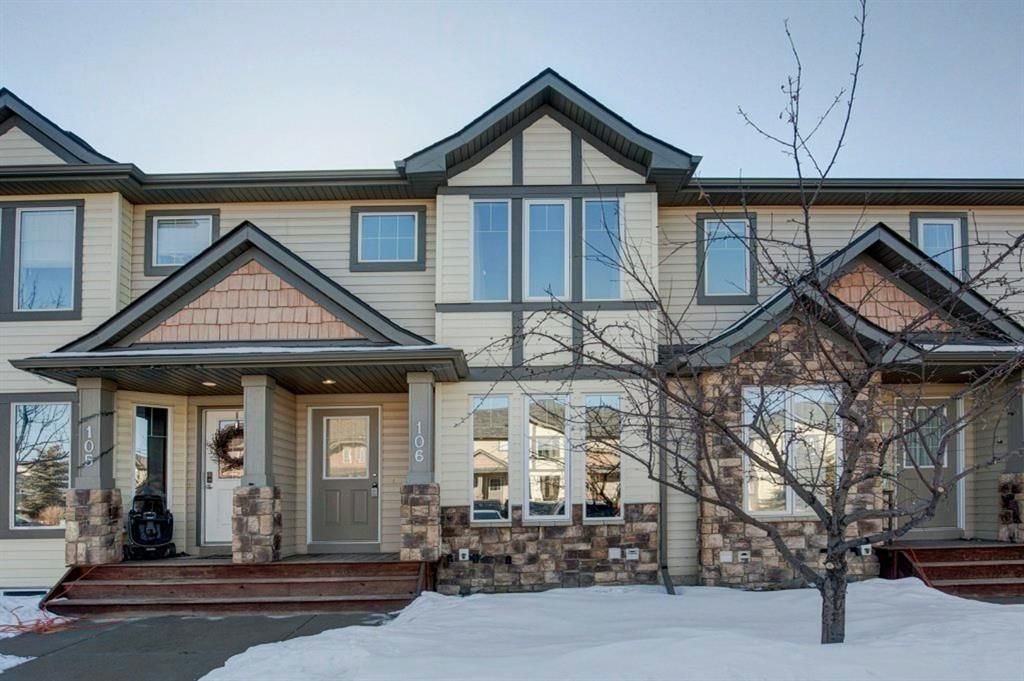 Main Photo: 106 2445 Kingsland Road SE: Airdrie Row/Townhouse for sale : MLS®# A1072510