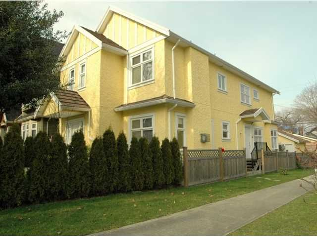 Main Photo: 291 E 24TH Avenue in Vancouver: Main 1/2 Duplex for sale (Vancouver East)  : MLS®# V868801