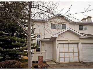 Photo 1: 14 SHAWINIGAN Lane SW in CALGARY: Shawnessy Townhouse for sale (Calgary)  : MLS®# C3564925