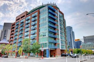 Photo 1: 512 205 Riverfront Avenue SW in Calgary: Chinatown Apartment for sale : MLS®# A1145354