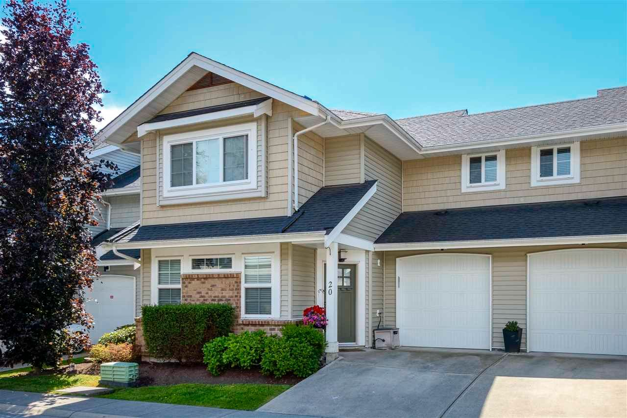 """Main Photo: 20 12161 237 Street in Maple Ridge: East Central Townhouse for sale in """"Village Green"""" : MLS®# R2585411"""