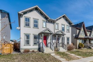 Main Photo: 99 Elgin Meadows View SE in Calgary: McKenzie Towne Semi Detached for sale : MLS®# A1094518