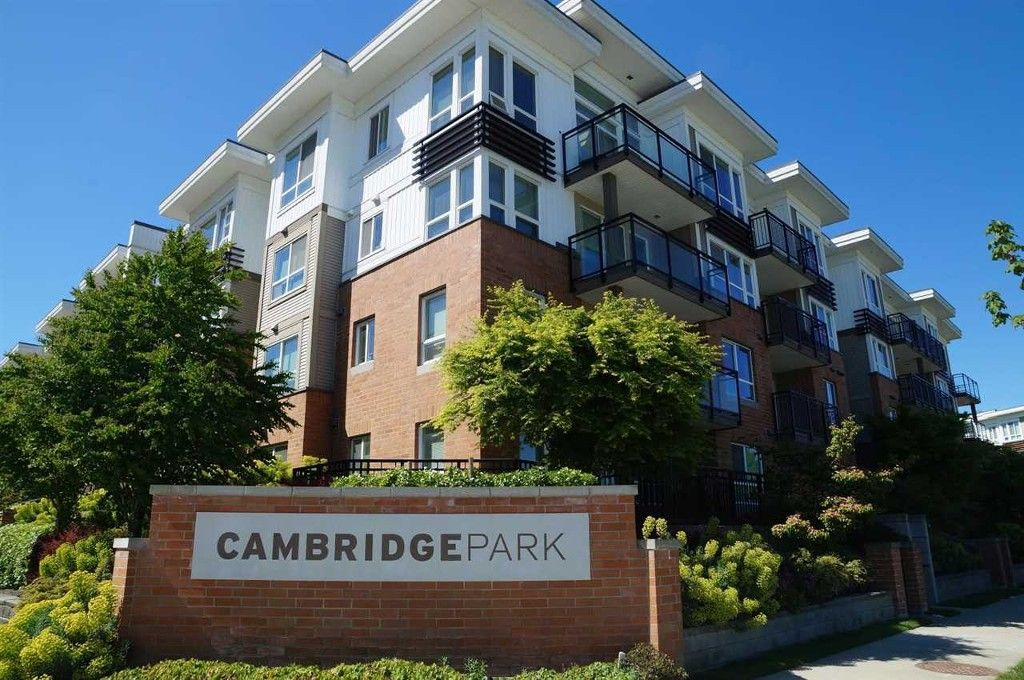 """Main Photo: 202 9399 TOMICKI Avenue in Richmond: West Cambie Condo for sale in """"CAMBRIDGE PARK BY POLYGON"""" : MLS®# R2064945"""