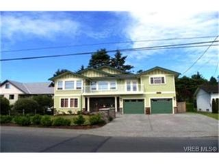 Photo 1:  in VICTORIA: SE Cadboro Bay House for sale (Saanich East)  : MLS®# 398222