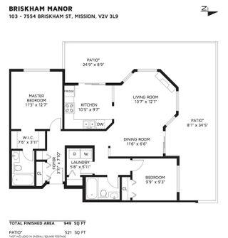 Photo 20: 103 7554 BRISKHAM STREET in Mission: Mission BC Condo for sale : MLS®# R2430128