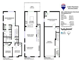 Photo 22: 52-11067 Barnston View Road in Pitt Meadows: South Meadows Townhouse for sale : MLS®# R2145745