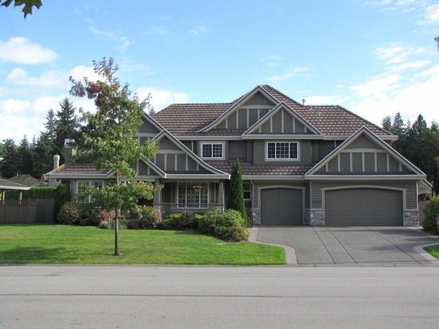Main Photo: 2442 137A Street in Surrey: Elgin Chantrell House for sale (South Surrey White Rock)  : MLS®# F1229071