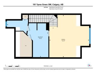 Photo 23: 191 Ypres Green SW in Calgary: Garrison Woods Row/Townhouse for sale : MLS®# A1140623