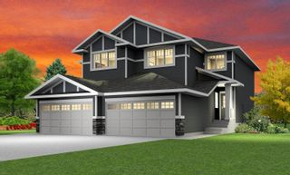 Photo 1: 624 Merlin Landing in Edmonton: Zone 59 House Half Duplex for sale : MLS®# E4265911