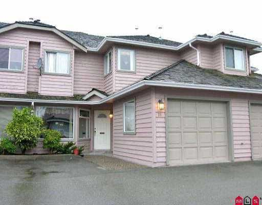 "Main Photo: 26 9727 152B ST in Surrey: Guildford Townhouse for sale in ""Westwood Estate"" (North Surrey)  : MLS®# F2523408"