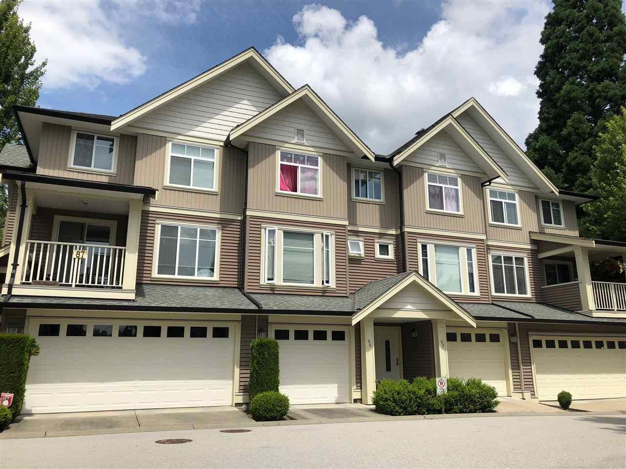 "Main Photo: 88 6575 192 Street in Surrey: Clayton Townhouse for sale in ""IXIA"" (Cloverdale)  : MLS®# R2284472"