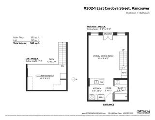 """Photo 30: 302 1 E CORDOVA Street in Vancouver: Downtown VE Condo for sale in """"CARRALL ST STATION"""" (Vancouver East)  : MLS®# R2502376"""