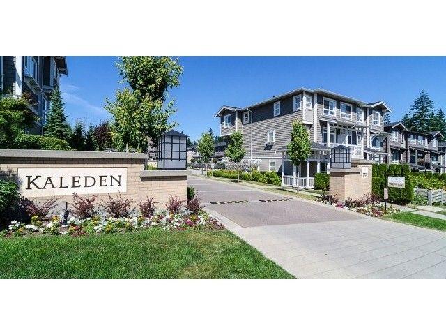 "Main Photo: 44 2729 158TH Street in Surrey: Grandview Surrey Townhouse for sale in ""KALDEDEN"" (South Surrey White Rock)  : MLS®# F1414968"
