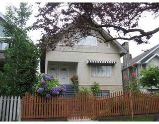 Main Photo: 1617 E 11TH Avenue in Vancouver: Grandview VE Duplex for sale (Vancouver East)  : MLS®# V671924