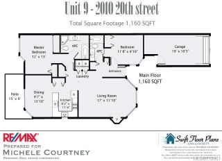 Photo 10: 9 2010 20TH STREET in COURTENAY: CV Courtenay City Row/Townhouse for sale (Comox Valley)  : MLS®# 712051