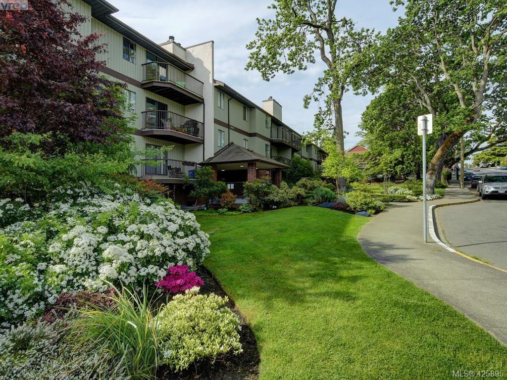 Main Photo: 303 1655 Begbie St in VICTORIA: Vi Fernwood Condo for sale (Victoria)  : MLS®# 839169