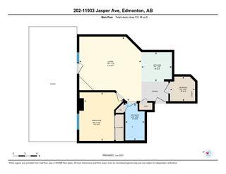 Photo 25: 202 11933 JASPER Avenue in Edmonton: Zone 12 Condo for sale : MLS®# E4248472