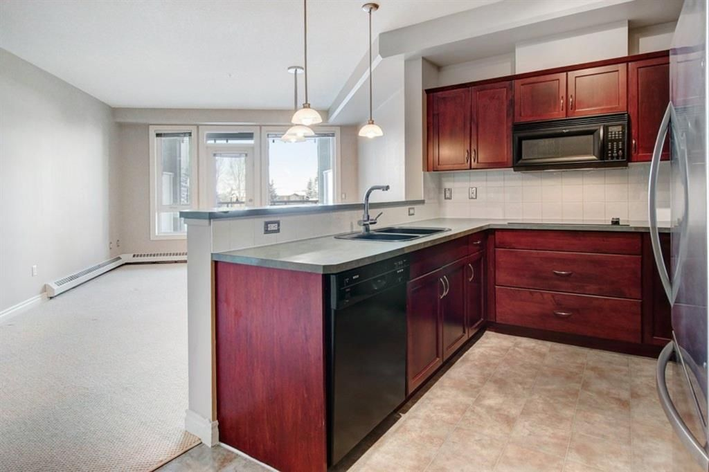 Your gorgeous and spacious kitchen in your new condo at 3111 Varsity!