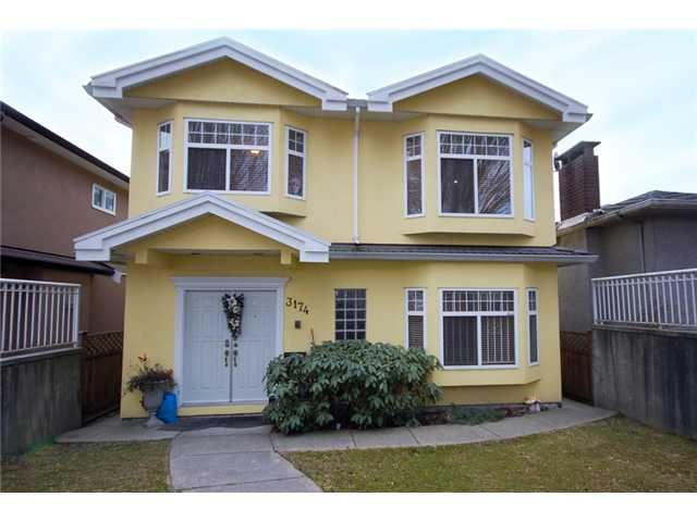 """Main Photo: 3174 E 8TH Avenue in Vancouver: Renfrew VE House for sale in """"S"""" (Vancouver East)  : MLS®# V1043527"""