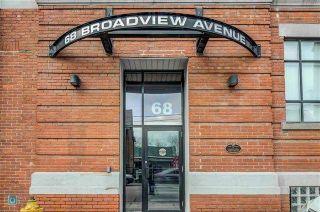 Photo 3: 68 Broadview Ave Unit #230 in Toronto: South Riverdale Condo for sale (Toronto E01)  : MLS®# E3695848