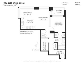 """Photo 20: 305 1919 WYLIE Street in Vancouver: False Creek Condo for sale in """"Maynards Block"""" (Vancouver West)  : MLS®# R2589947"""