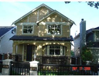 Photo 1: 8056 HUDSON Street in Vancouver: Marpole House for sale (Vancouver West)  : MLS®# V708898