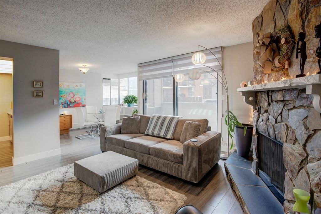 Photo 3: Photos: 102 345 4 Avenue NE in Calgary: Crescent Heights Apartment for sale : MLS®# A1065227