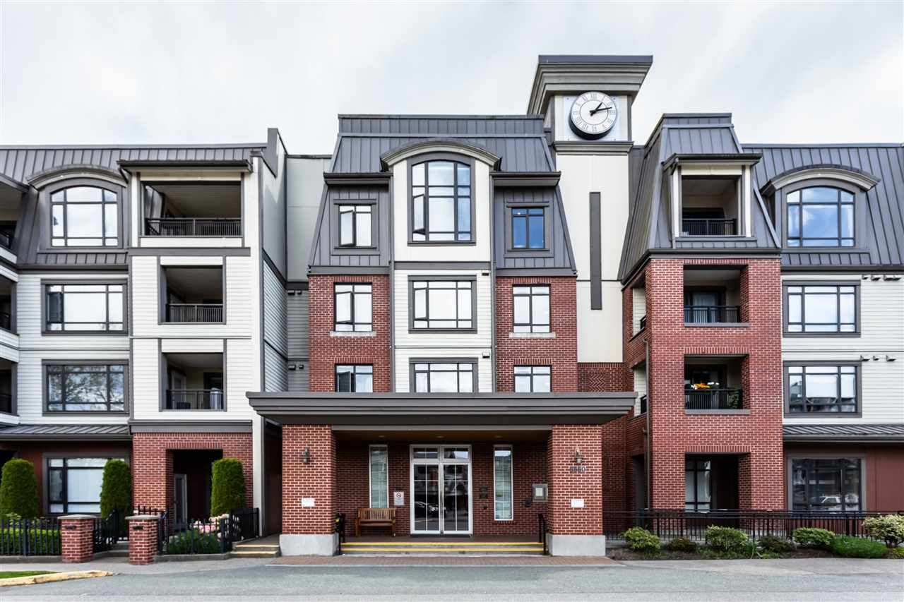 """Main Photo: 422 8880 202 Street in Langley: Walnut Grove Condo for sale in """"THE RESIDENCES AT VILLAGE SQUARE"""" : MLS®# R2534222"""