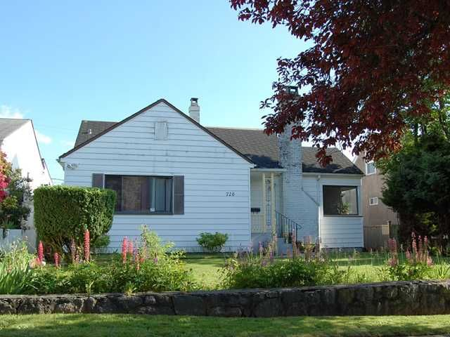 """Main Photo: 720 W 27TH Avenue in Vancouver: Cambie House for sale in """"CAMBIE VILLAGE"""" (Vancouver West)  : MLS®# V956605"""