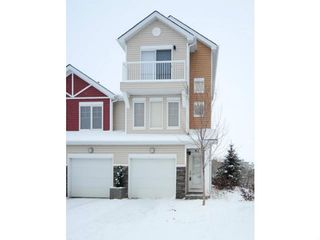 Photo 1: 86 CHAPARRAL RIDGE Park SE in CALGARY: Chaparral Townhouse for sale (Calgary)  : MLS®# C3551699