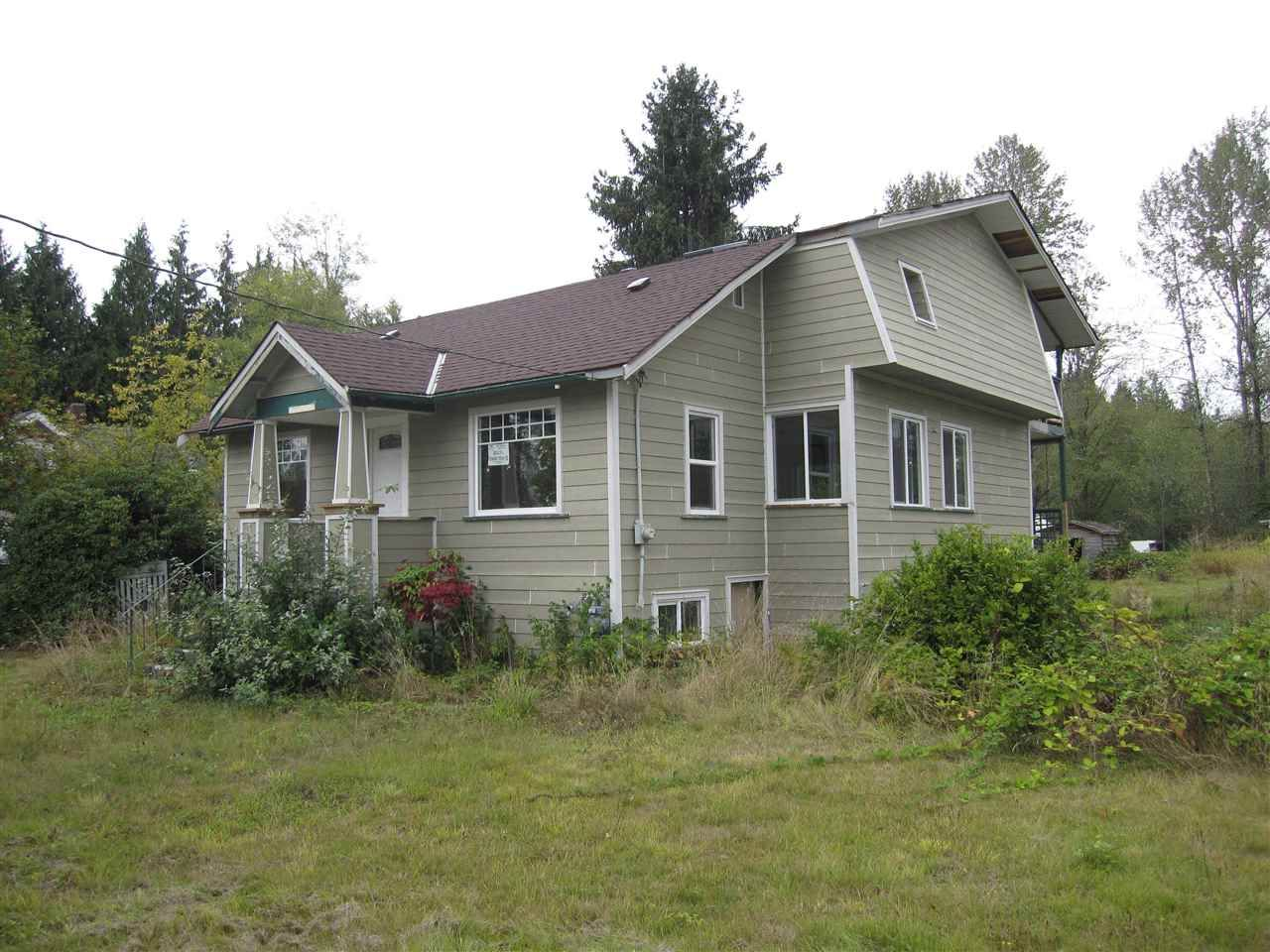 Main Photo: 25151 DEWDNEY TRUNK Road in Maple Ridge: Websters Corners House for sale : MLS®# R2204829