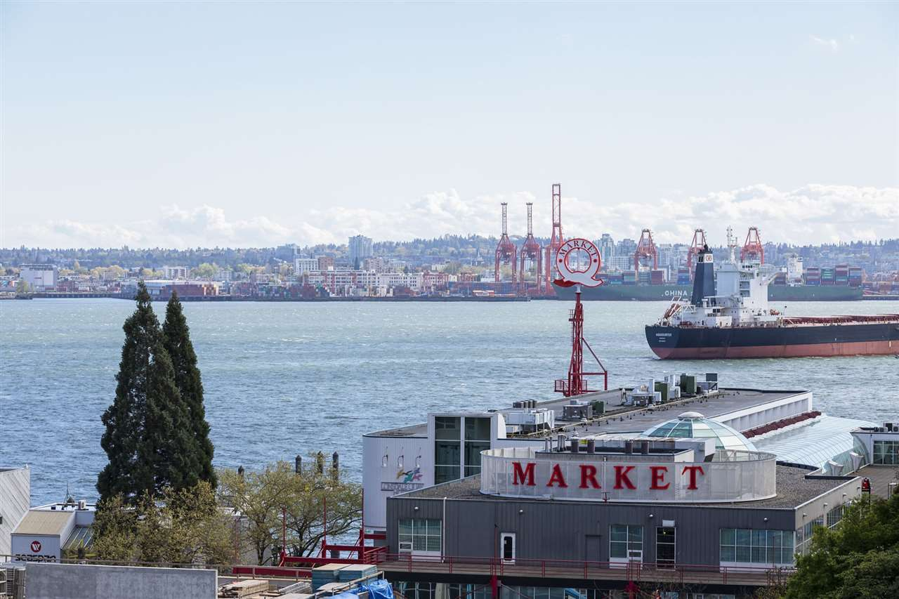 Main Photo: 602 155 W 1ST STREET in North Vancouver: Lower Lonsdale Condo for sale : MLS®# R2365793