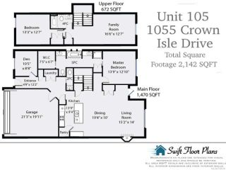 Photo 10: 105 1055 Crown Isle Dr in COURTENAY: CV Crown Isle Row/Townhouse for sale (Comox Valley)  : MLS®# 740518