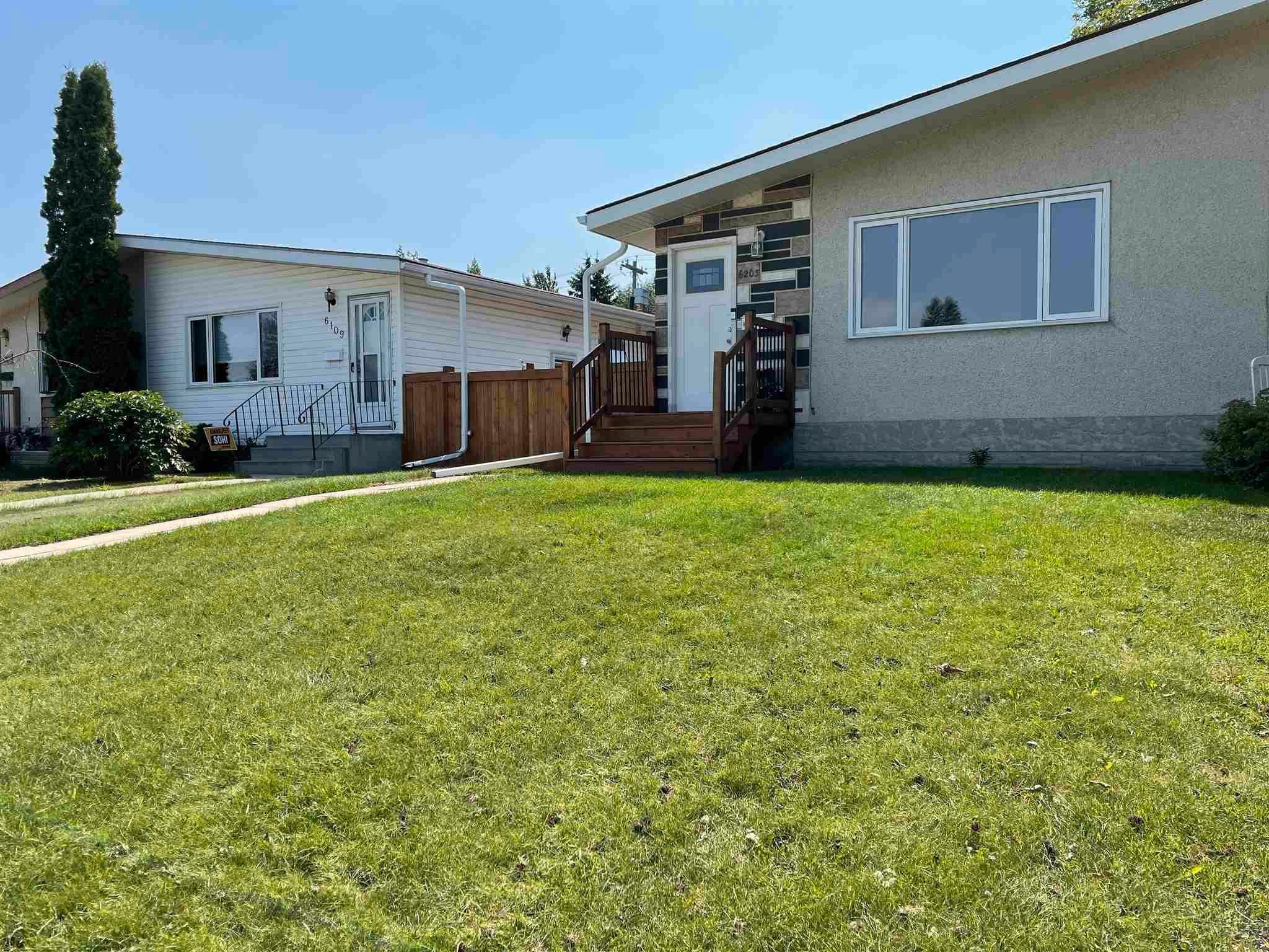 Main Photo: 6203 84 Avenue in Edmonton: Zone 18 House Half Duplex for sale : MLS®# E4253105