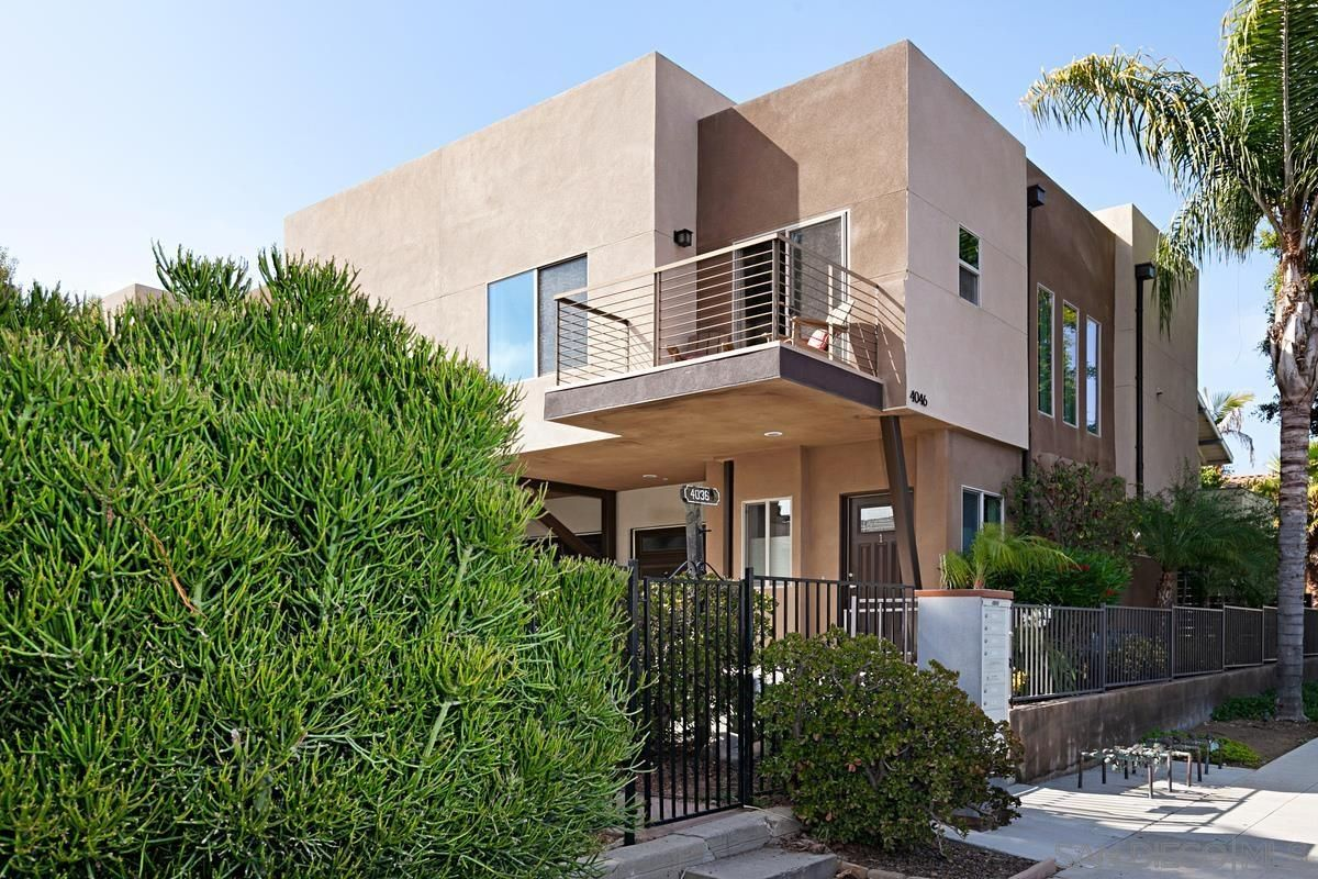 Main Photo: HILLCREST Townhouse for sale : 2 bedrooms : 4046 Centre St. #1 in San Diego