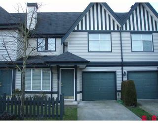 Photo 1: #53 18883 65th AV in Cloverdale: Townhouse for sale : MLS®# F2803739