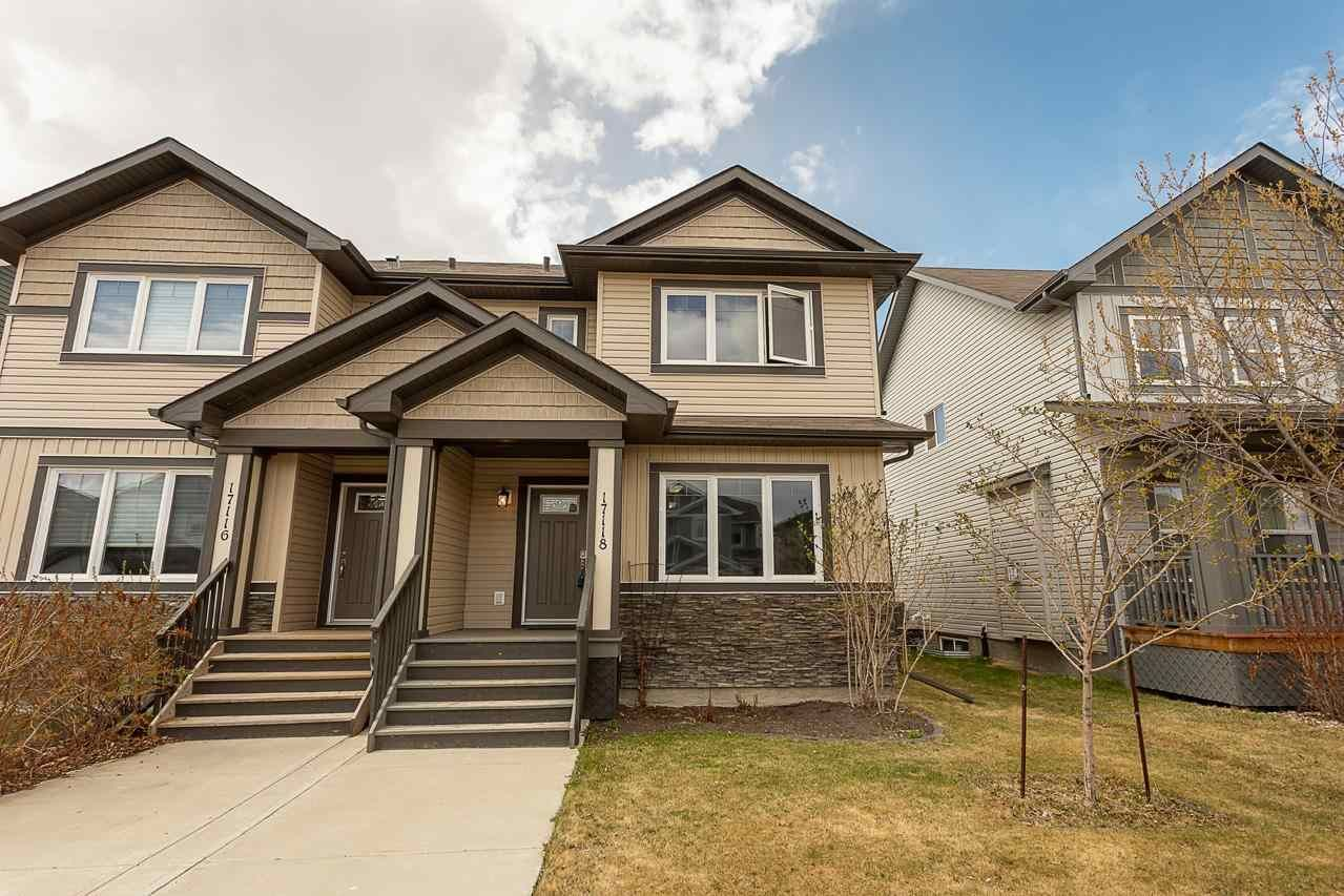 Main Photo: 17118 120 Street in Edmonton: Zone 27 House Half Duplex for sale : MLS®# E4242628