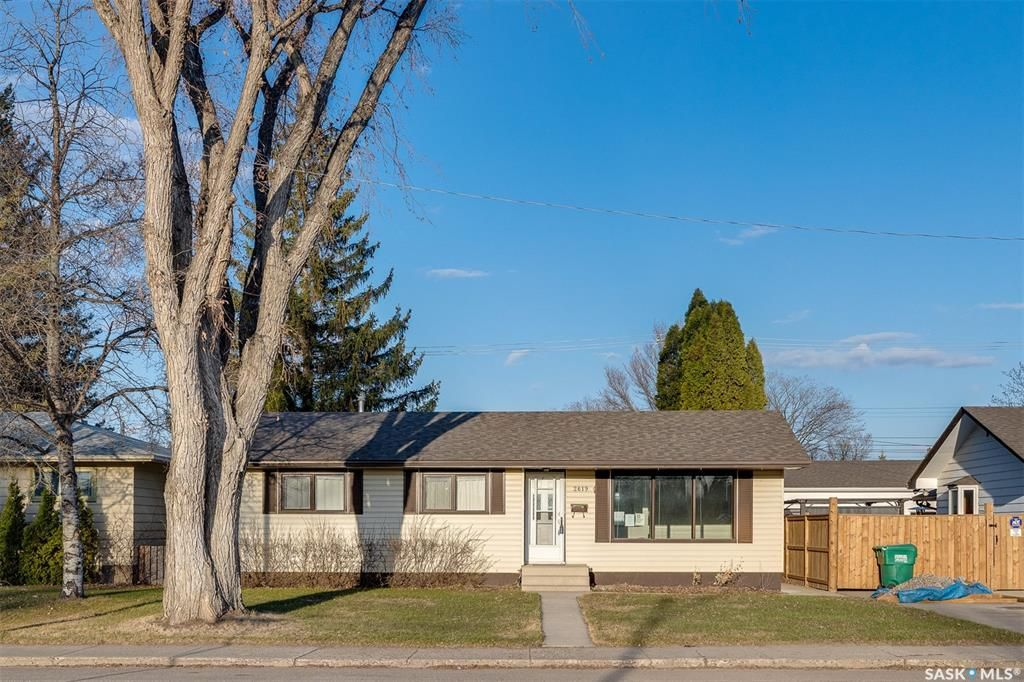 Main Photo: 2619 Albert Avenue in Saskatoon: Avalon Residential for sale : MLS®# SK851670