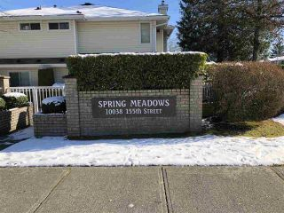 """Photo 1: 54 10038 155 Street in Surrey: Guildford Townhouse for sale in """"SPRING MEADOWS"""" (North Surrey)  : MLS®# R2240810"""