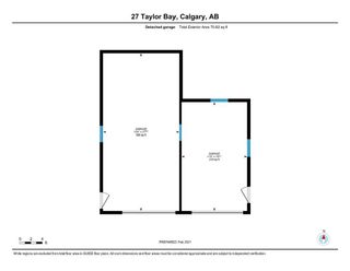 Photo 50: 27 Taylor Bay in Rural Rocky View County: Rural Rocky View MD Detached for sale : MLS®# A1083213