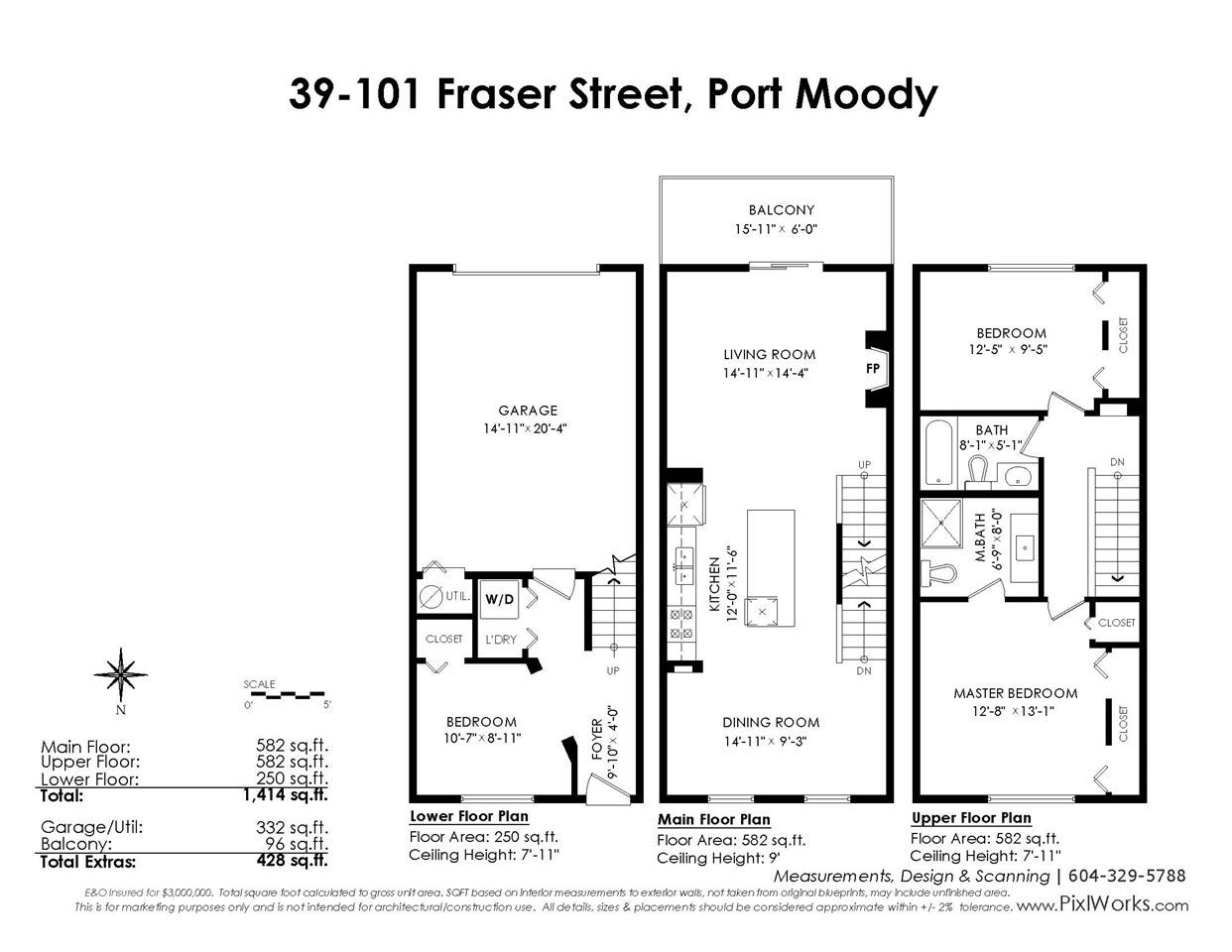 """Photo 20: Photos: 39 101 FRASER Street in Port Moody: Port Moody Centre Townhouse for sale in """"CORBEAU"""" : MLS®# R2410507"""