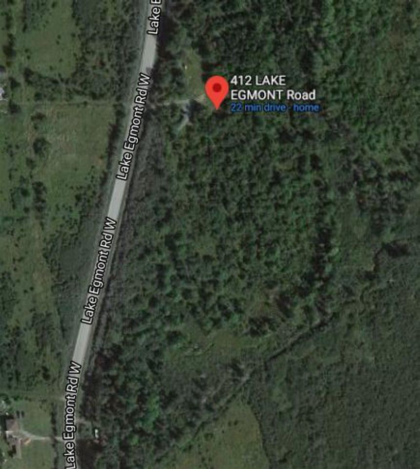 Main Photo: 412 Lake Egmont Road in Lake Egmont: 105-East Hants/Colchester West Vacant Land for sale (Halifax-Dartmouth)  : MLS®# 202125759