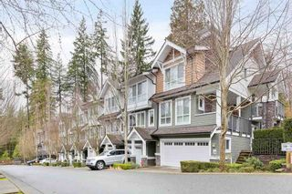 "Photo 1: 132 1460 SOUTHVIEW Street in Coquitlam: Burke Mountain Townhouse for sale in ""CEDAR CREEK"" : MLS®# R2528006"