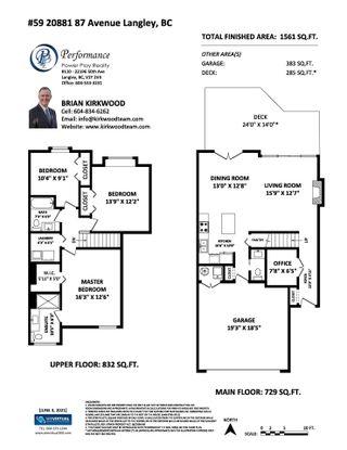 "Photo 3: 59 20881 87 Avenue in Langley: Walnut Grove Townhouse for sale in ""KEW GARDENS"" : MLS®# R2592060"