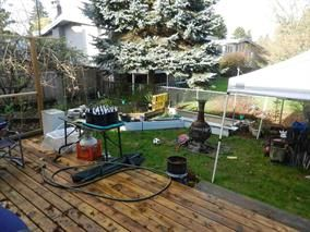 Photo 1: 22041 Dewdney Trunk Road in Maple Ridge: Duplex for sale