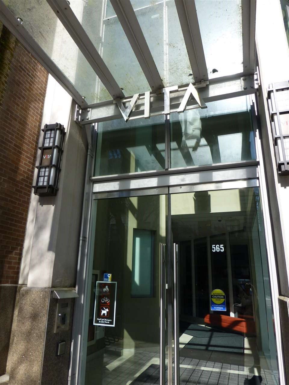 """Main Photo: 1903 565 SMITHE Street in Vancouver: Downtown VW Condo for sale in """"VITA"""" (Vancouver West)  : MLS®# R2153375"""