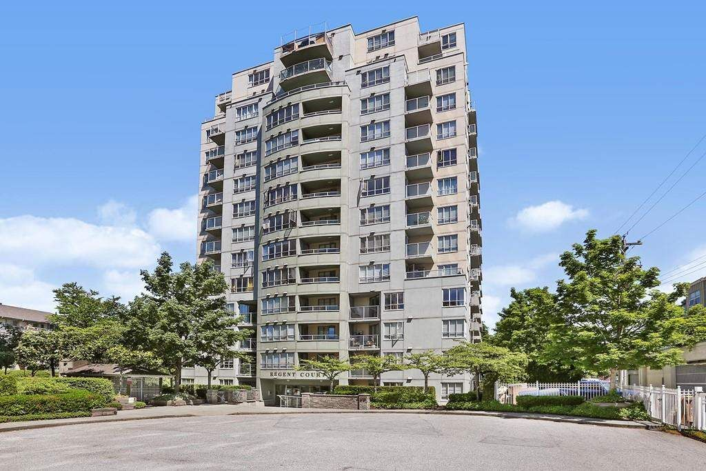 """Main Photo: 1404 3489 ASCOT Place in Vancouver: Collingwood VE Condo for sale in """"Regent Court"""" (Vancouver East)  : MLS®# R2587814"""