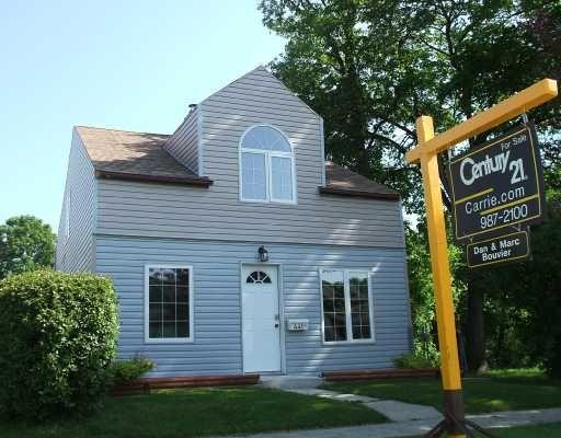 Main Photo: 441 EDGEWOOD Street in WINNIPEG: St Boniface Residential for sale (South East Winnipeg)  : MLS®# 2810943