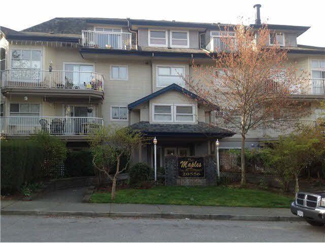 Main Photo: 203 20556 113TH AVENUE in : Southwest Maple Ridge Condo for sale : MLS®# V1000450